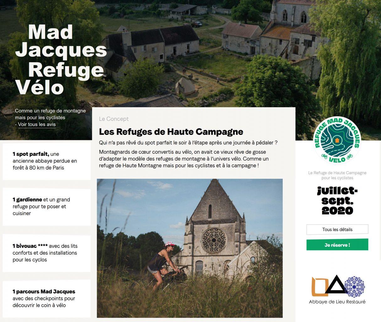 Mad Jacques à l'Abbaye de Lieu Restauré : jusqu'à fin Septembre 2020 à l'Abbaye